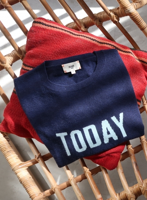 Pull Col Rond Ml Today 100%cashmere Gg12
