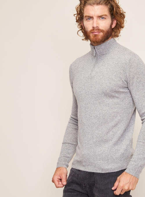 Pull Col Camionneur Ml 100%cashmere Gg12