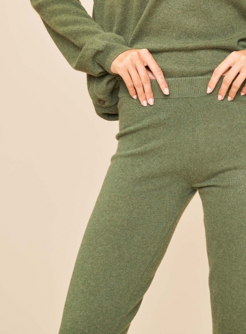 Leggings 100%cashmere Gg12