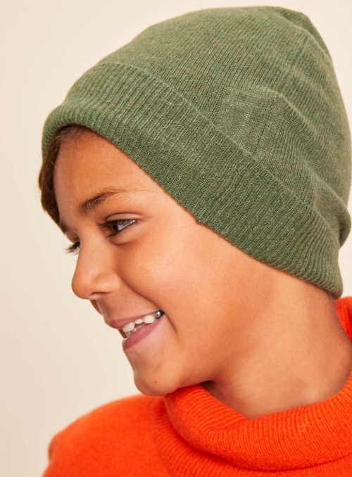 Bonnet kid en Cachemire